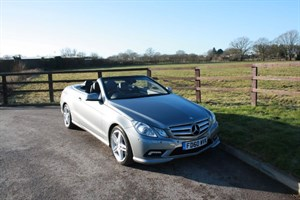 used Mercedes E250 CDI BLUEEFFICIENCY SPORT in aldershot-hampshire