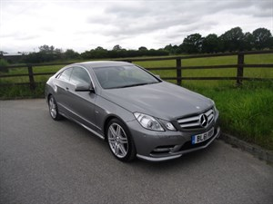 used Mercedes E250 CDI BLUEEFFICIENCY S/S SPORT (VAT QUALIFYING) in aldershot-hampshire