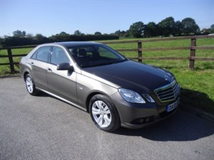 used Mercedes E250 CDI BLUEEFFICIENCY SE in aldershot-hampshire