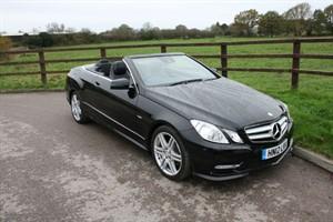 used Mercedes E350 CDI BLUEEFFICIENCY SPORT(FULL COMAND SAT NAV) in aldershot-hampshire
