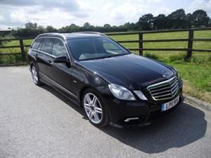 used Mercedes E350 CDI BLUEEFFICIENCY SPORT ED125 (SAT NAV & SUNRROF & 7 SEATS) in aldershot-hampshire