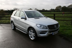 used Mercedes ML250 BLUETEC SE (COMAND,REV CAMERA, ELEC TOW BAR PLUS MANY EXTRAS) in aldershot-hampshire