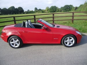 used Mercedes SLK200 KOMPRESSOR in aldershot-hampshire