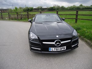 used Mercedes SLK250 SLK SLK250 BLUEEFFICIENCY AMG SPORT (SAT NAV) in aldershot-hampshire