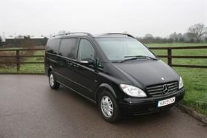 used Mercedes Viano CDI EXTRA LONG AMBIENTE in aldershot-hampshire