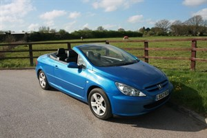 used Peugeot 307 COUPE CABRIOLET in aldershot-hampshire