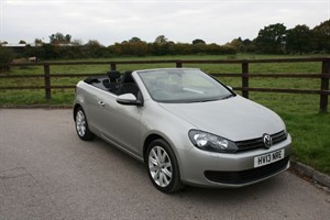 used VW Golf S TSI 1.4 122 BHP  in aldershot-hampshire
