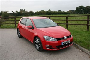 used VW Golf GT TDI BLUEMOTION TECHNOLOGY(150 BHP) in aldershot-hampshire