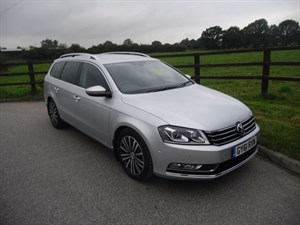 used VW Passat SPORT TDI BLUEMOTION TECHNOLOGY DSG in aldershot-hampshire