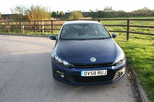 used VW Scirocco GT in aldershot-hampshire