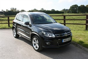 used VW Tiguan R LINE TDI BLUEMOTION TECHNOLOGY 4MOTION in aldershot-hampshire