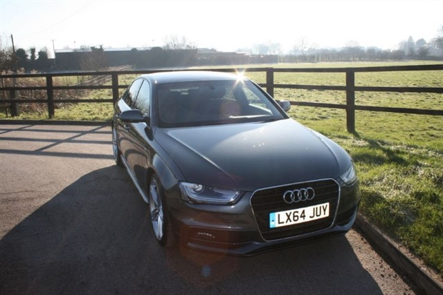 used Audi A4 TDI S LINE (TECH PACK) in aldershot-hampshire