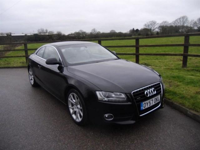 used Audi A5 TDI QUATTRO SPORT in aldershot-hampshire