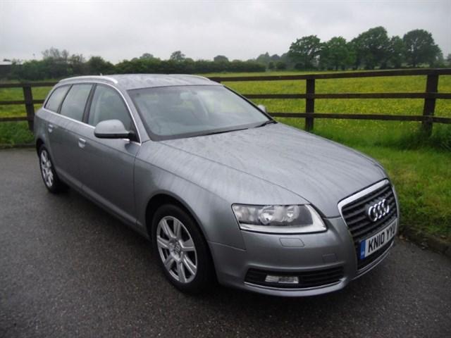 used Audi A6 Avant TDI SE auto(sat nav) in aldershot-hampshire