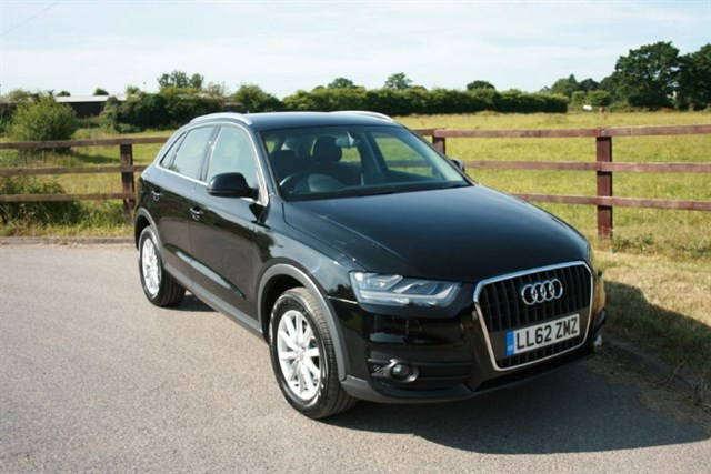 used Audi Q3 TDI SE in aldershot-hampshire