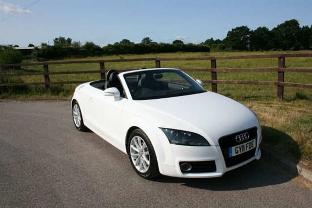 used Audi TT TFSI SPORT in aldershot-hampshire