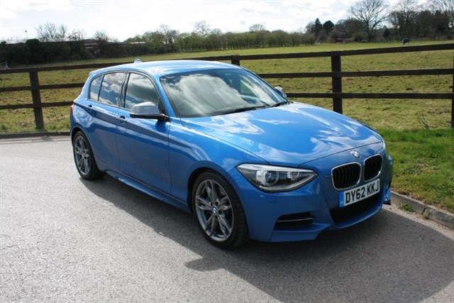 used BMW 1 Series M 135I (MEDIA & VISIBILITY PACKAGES) in aldershot-hampshire