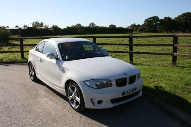 used BMW 118d EXCLUSIVE EDITION in aldershot-hampshire