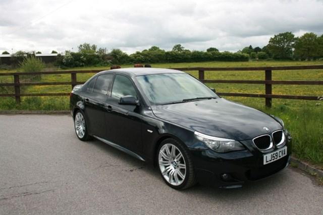 used BMW 520d M SPORT BUSINESS EDITION in aldershot-hampshire