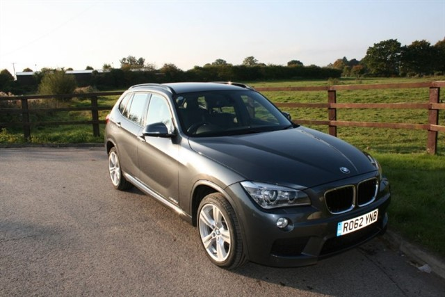 used BMW X1 XDRIVE20D M SPORT 4 WHEEL DRIVE in aldershot-hampshire