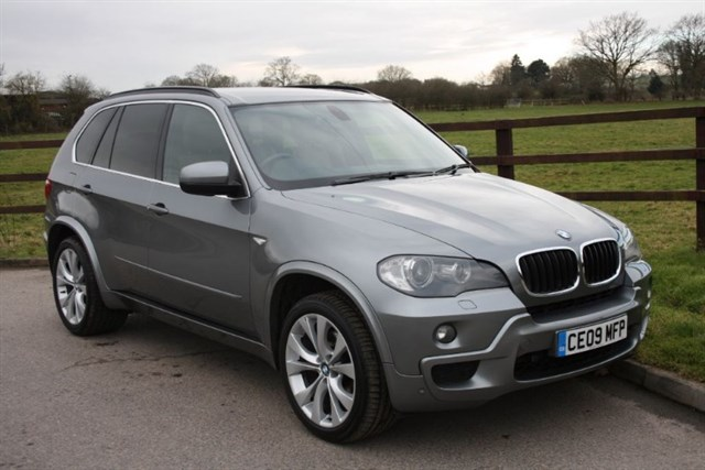 used BMW X5 D M SPORT in aldershot-hampshire