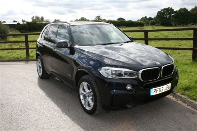 used BMW X5 XDRIVE30D M SPORT (PANO ROOF, SAT NAV, MANY EXTRA'S) in aldershot-hampshire