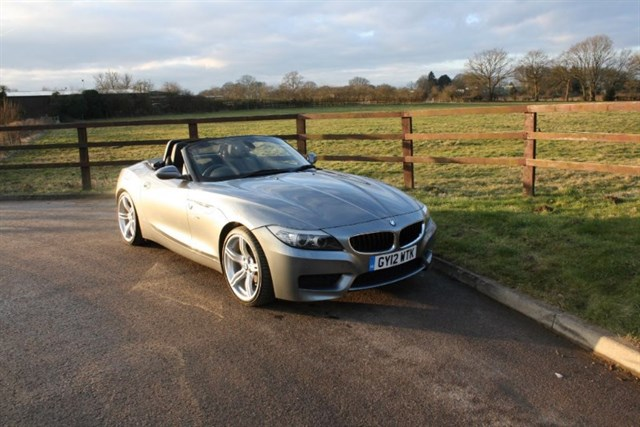 used BMW Z4 SDRIVE20I M SPORT ROADSTER in aldershot-hampshire