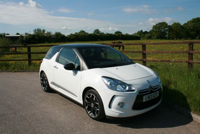 used Citroen DS3 DSTYLE PLUS in aldershot-hampshire