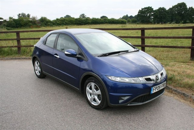 used Honda Civic I-VTEC SE in aldershot-hampshire