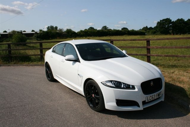 used Jaguar XF D R-SPORT in aldershot-hampshire