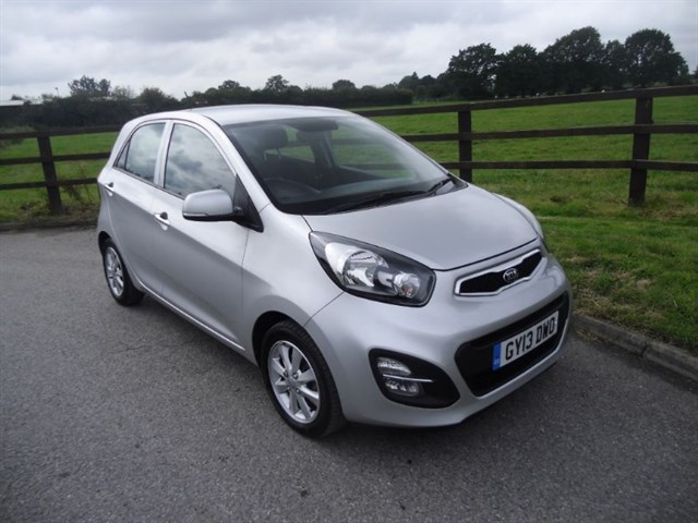used Kia Picanto 2 ECODYNAMICS in aldershot-hampshire