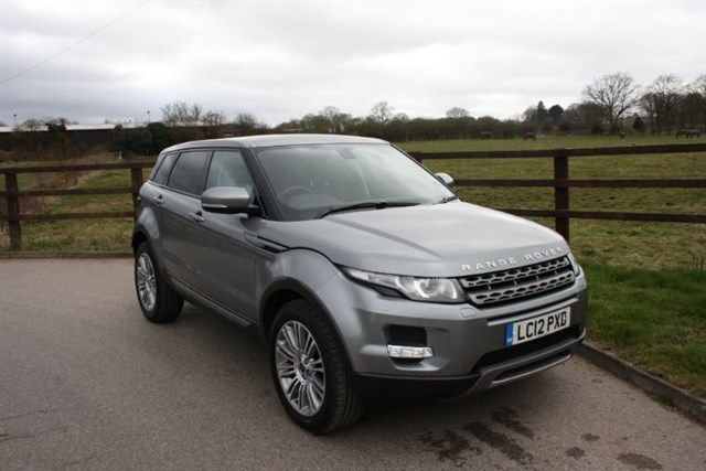 used Land Rover Range Rover Evoque SD4 PURE TECH in aldershot-hampshire
