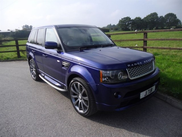 used Land Rover Range Rover Sport TDV6 HSE(Autobiography bodystyling) in aldershot-hampshire