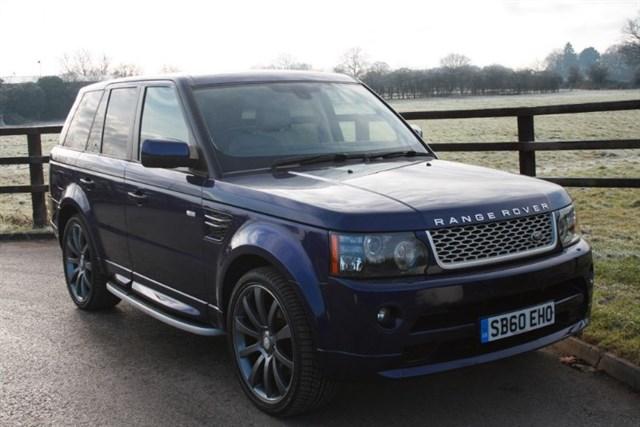 used Land Rover Range Rover Sport TDV6 HSE(Autobiography bodystyling) in aldershot-hampshire