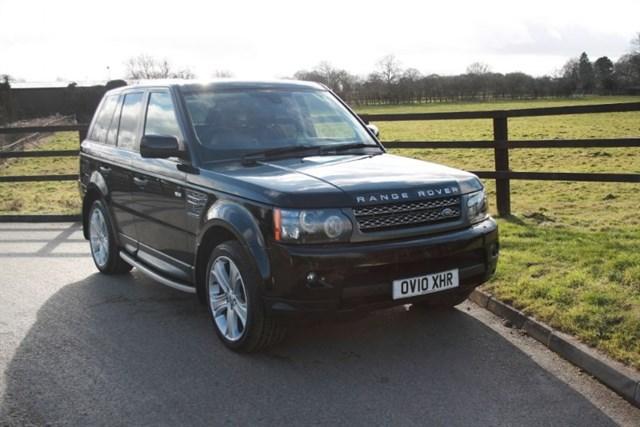 used Land Rover Range Rover Sport TDV8 SPORT HSE in aldershot-hampshire