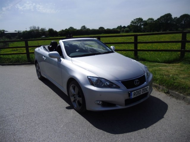 used Lexus IS 250C SE-I in aldershot-hampshire