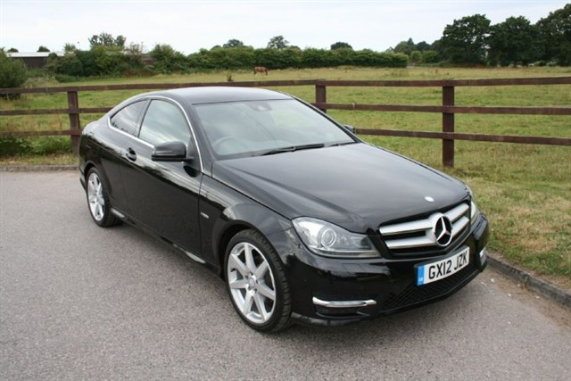 used Mercedes C180 BLUEEFFICIENCY AMG SPORT(VAT QUALIFYING) in aldershot-hampshire