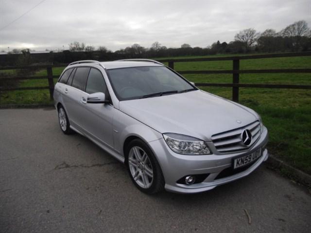 used Mercedes C220 CDI BLUEEFFICIENCY SPORT in aldershot-hampshire