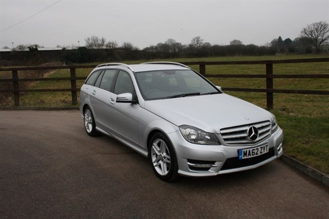 used Mercedes C250 CDI BLUEEFFICIENCY AMG SPORT in aldershot-hampshire