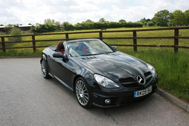 used Mercedes  SLK SLK55 AMG in aldershot-hampshire