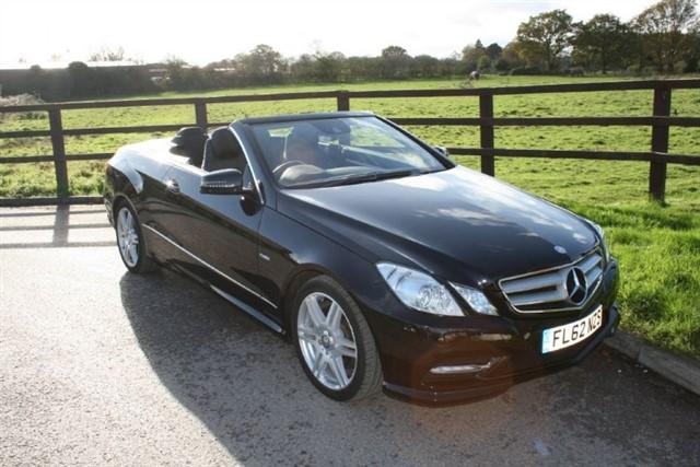 used Mercedes E200 CGI BLUEEFFICIENCY S/S SPORT(FULL COMAND SAT NAV) in aldershot-hampshire