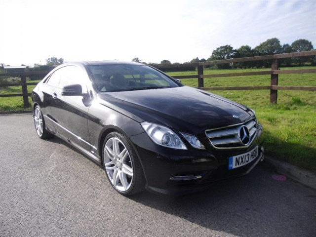 used Mercedes E220 CDI SPORT COUPE(PANO ROOF &NAV) in aldershot-hampshire