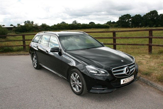 used Mercedes E220 CDI SE (VAT QUALIFYING) in aldershot-hampshire