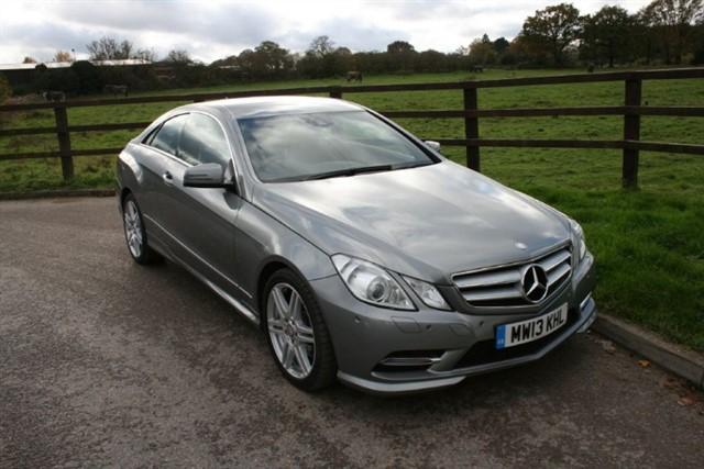 used Mercedes E250 CDI BLUEEFFICIENCY S/S SPORT in aldershot-hampshire