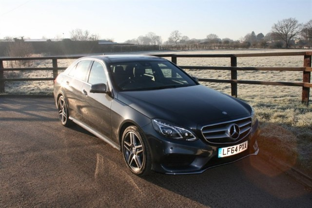 used Mercedes E250 CDI AMG SPORT (PANO ROOF, ELEC SEATS, SAT NAV, 360 DEGREE CAMERA) in aldershot-hampshire