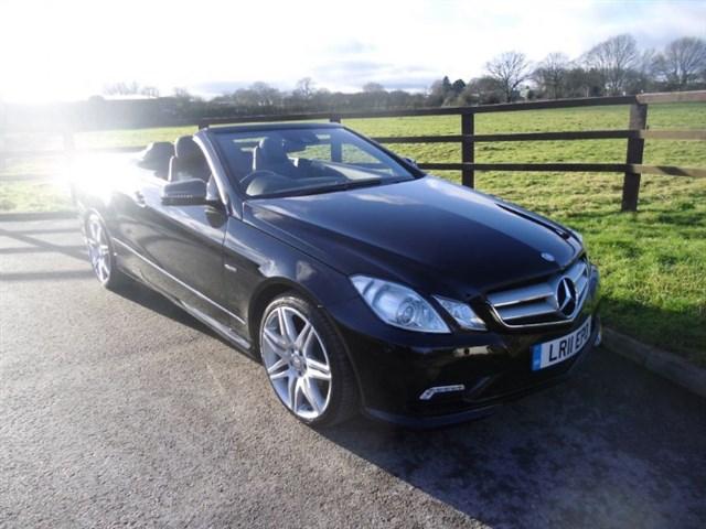 used Mercedes E350 CDI BLUEEFFICIENCY SPORT in aldershot-hampshire