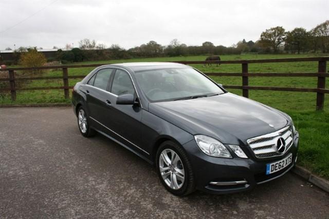 used Mercedes E350 CDI BLUEEFFICIENCY S/S AVANTGARDE (COMAND SAT NAV) in aldershot-hampshire