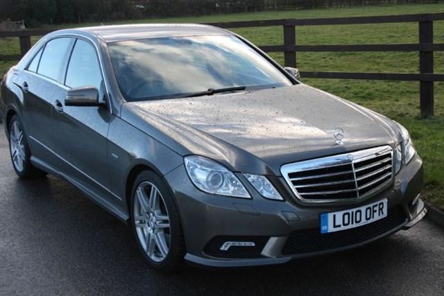 used Mercedes E350 CGI BLUEEFFICIENCY SPORT in aldershot-hampshire
