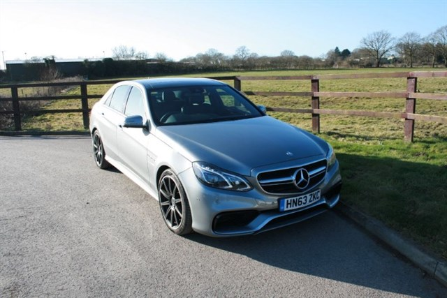 used Mercedes E63 AMG 2014 REGISTERED.. PANO SUNROOF in aldershot-hampshire
