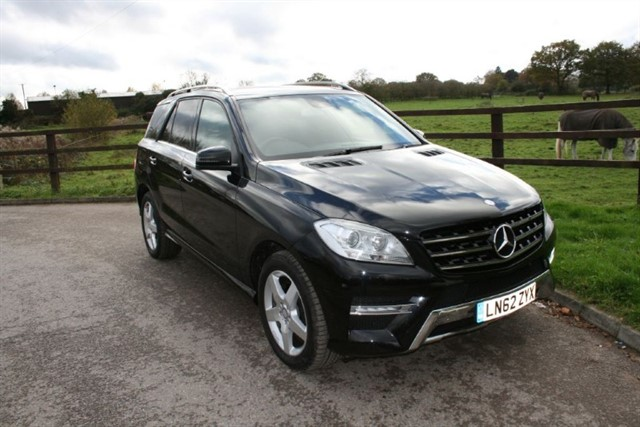 used Mercedes ML250 BLUETEC SPORT in aldershot-hampshire